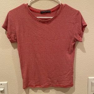 red striped brandy melville tee
